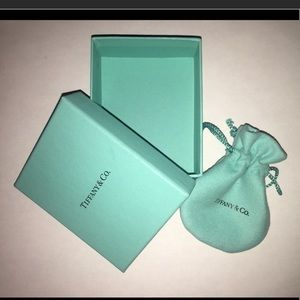 Tiffany box and pouch